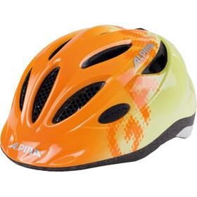 Alpina Gamma 2.0 casco per bici Bambino arancione